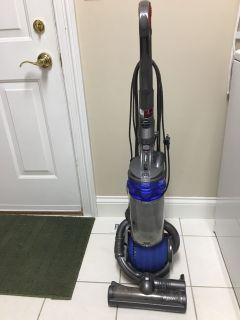 Dyson upright vacuum cleaner.