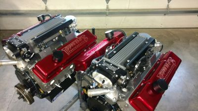 New 485HP Fuel Injected Small Block Marine Engines (2 avail)