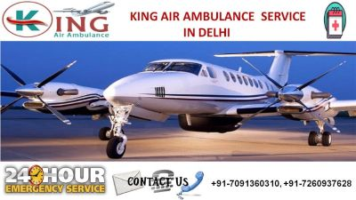 Avail High-Demand Discounted King Air Ambulance Service in Delhi