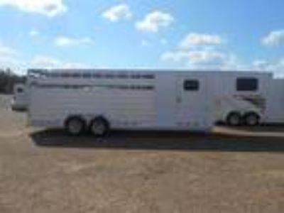 2018 Cimarron Trailers Lonestar Gooseneck 4 horses