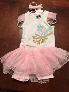 New 9-12 Month Mudpie Outfit