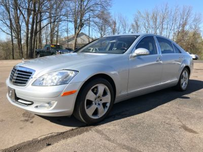2007 Mercedes-Benz S-Class S550 (Iridium Silver Metallic)