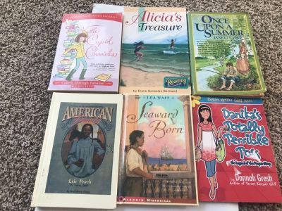 Collection of girly chapter books