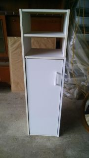 White cabinet (not solid wood)