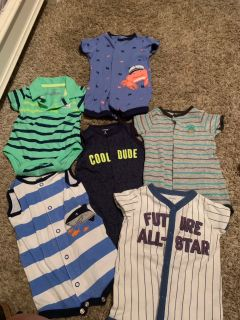 3 month onesie lot