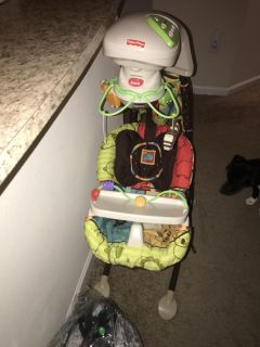 Electric Fisher Price baby swing