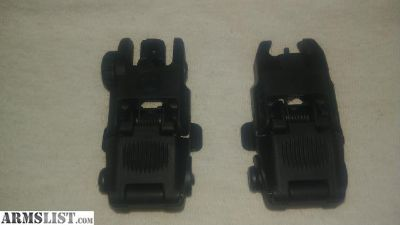 For Sale: G2 Magpul MBUS flip up sights