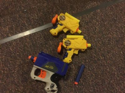 Small Nerf and Nerf Style Guns