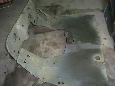 Purchase WILLYS JEEP M38 G740 NOS FRONT FLR BOARD ASSY W/FIREWALL & HAT CHANNELS motorcycle in Donaldsonville, Louisiana, US, for US $850.00