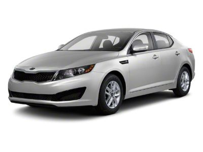 2012 Kia Optima EX Turbo (Titanium Metallic)