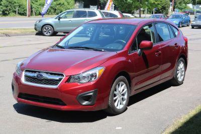 2012 Subaru Impreza 2.0i Premium (Camellia Red Pearl)
