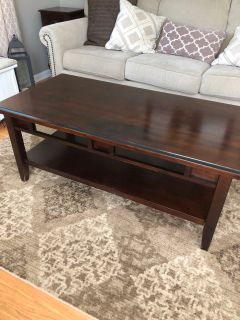 Ashley Coffee Table & End Table Set