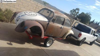 1971 VW Bug Trailer