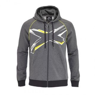 Purchase Ski-Doo X-Team Hoodie - Heather Grey/Green motorcycle in Sauk Centre, Minnesota, United States, for US $63.74