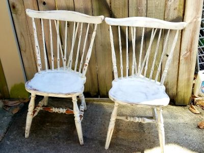 2 dining chairs MAKE OFFER
