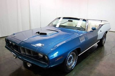 1971 Plymouth Hemi Cuda 2 Door Convertible
