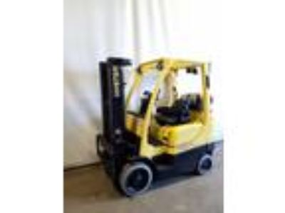 2009 Hyster S50FT Cushion Tire 4 Wheel Sit Down Indoor Warehouse