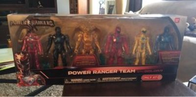 Power Ranger Team With Goldar