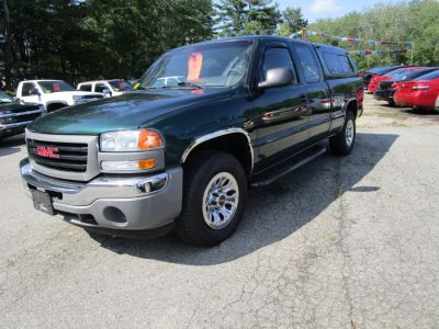 2005 GMC Sierra 1500 Work Truck (Polo Green Metallic)