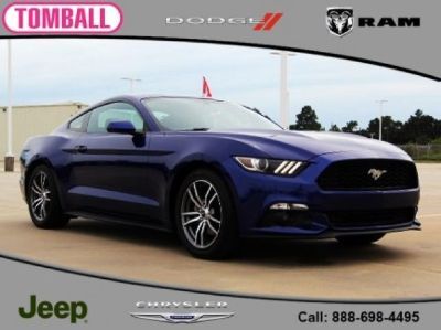 2016 Ford Mustang EcoBoost (Blue Metallic)