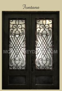 Fontana Style Iron Doors