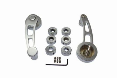 Find Hot Rod Chrome Billet Aluminum Long Window Crank Handle Kit Chevy Ford Mopar V8 motorcycle in La Verne, California, United States, for US $24.95