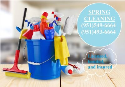 SPRING CLEANING!  HOUSEKEEPING SERVICES