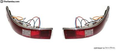 Complete Taillight Assembly Set, 911/912 (65-68)
