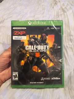 Call of Duty Black Ops 4- Brand New never opened!