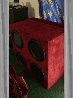 Subwoofers cheap or trade