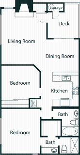2 bedroom in Oak Park