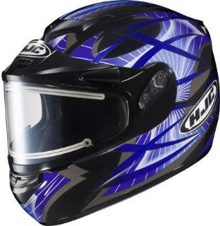 Buy HJC CS-R2 Small Storm Blue Electric Snowmobile Snow Sled CSR2 Helmet Sml Sm S motorcycle in Ashton, Illinois, US, for US $170.99