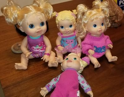 Lot of baby alive dolls toddler toys