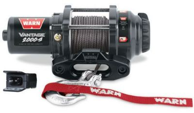 Sell Warn ATV Vantage 2000S Winch w/Mount CanAm Renegade 2012-2016 570G2 motorcycle in Northern Cambria, Pennsylvania, United States, for US $379.95