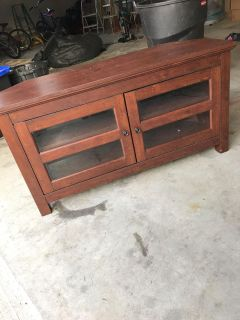 Awesome wooden tv stand