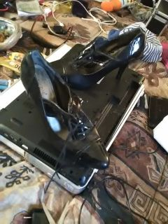 Nicole Black Pumps 8.5W