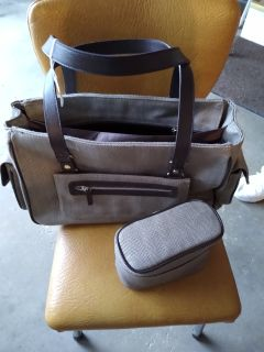 Brand new Travel bag with cosmetic bag