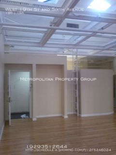 Flatiron - Large LOFT with 2 bedrooms and open space;  Keyed Elevator