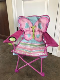 Kids folding camping outdoor chair