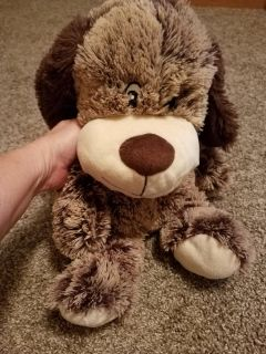 17 INCH, EXTREMELY SOFT DOG, EXCELLENT CONDITION, SMOKE FREE HOUSE