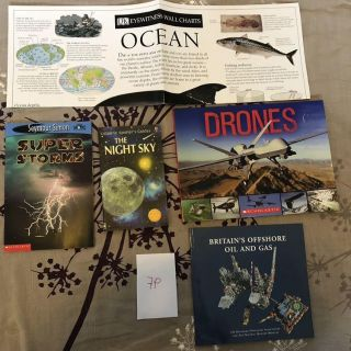 Awesome science books - Drones, stars, ocean, storms