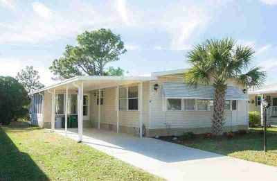 1288 Gardenia Drive Barefoot Bay Two BR, Canal Front!