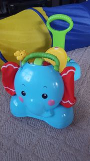 Fisher Price ride-on elephant