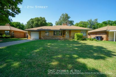 Single-family home Rental - 4125 NW 12th Street