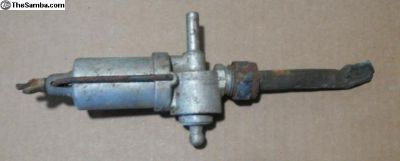 Original Gas PETCOCK for Porsche 356 B or C