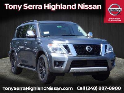 2018 Nissan Armada Platinum (Gun Metallic)