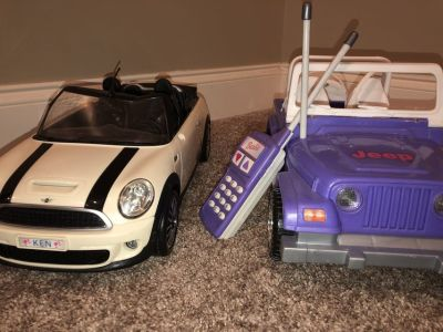 Ken and Barbie Cars