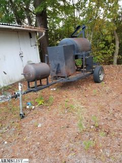 For Sale/Trade: Smoker/grill trade for Firearms