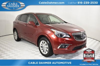 2018 Buick Envision Essence (Chili Red)