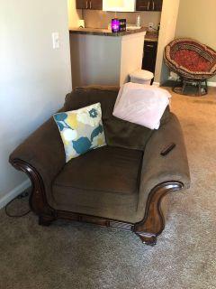 Big brown chair